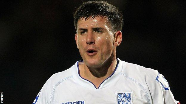 Tranmere Rovers defender David Buchanan