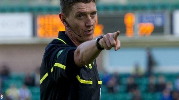 Thomson and his team will also officiate at Euro 2012