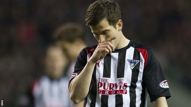 Dunfermline will be playing in Division One next season