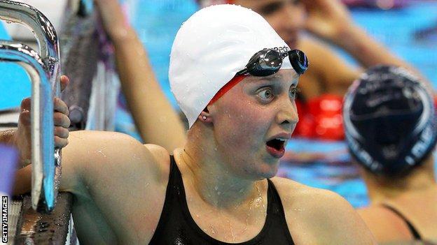 British swimmer Rebecca Turner