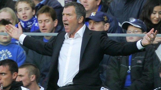 Souness was last in football with Newcastle, leaving in 2006
