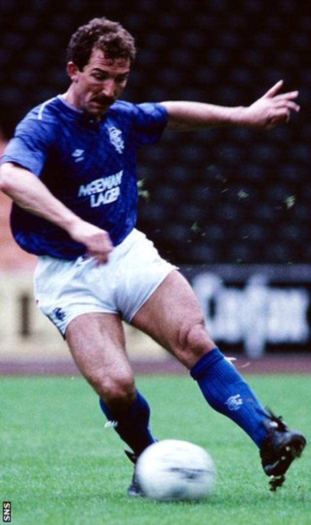 Souness spent five years at Ibrox, joining as player-manager in 1986