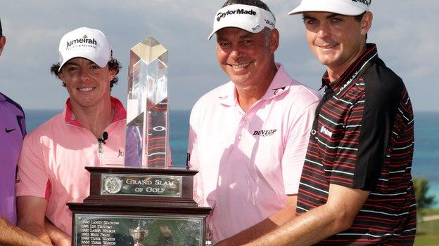 Current major champions Rory McIlroy, Darren Clarke and Keegan Bradley will all be in action at Royal Portrush