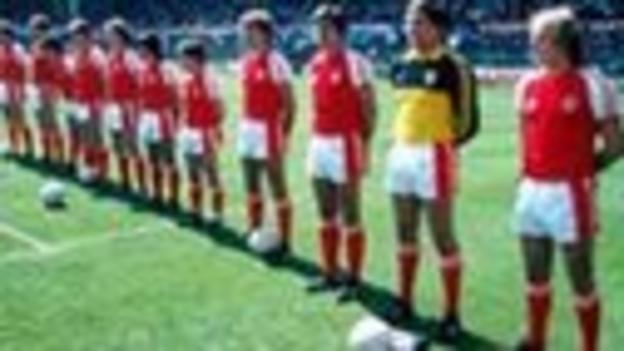 Wales team, circa 1976