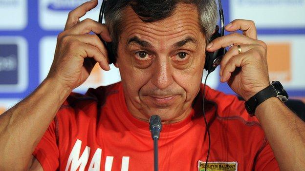 Frenchman Alain Giresse
