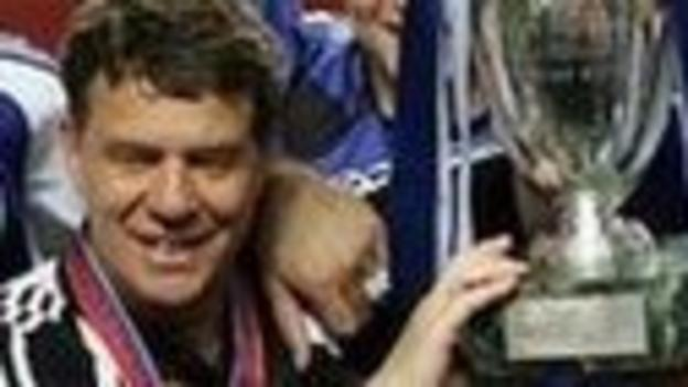Greece coach Otto Rehhagel