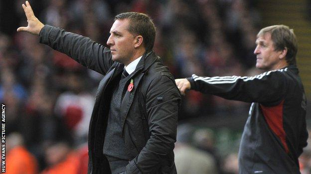 Brendan Rodgers and Kenny Dalglish
