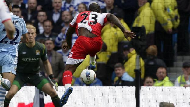 Djibril Cisse scores for QPR