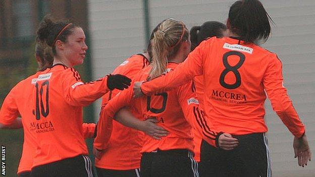 Glasgow City are top of the Scottish Women's Premier League