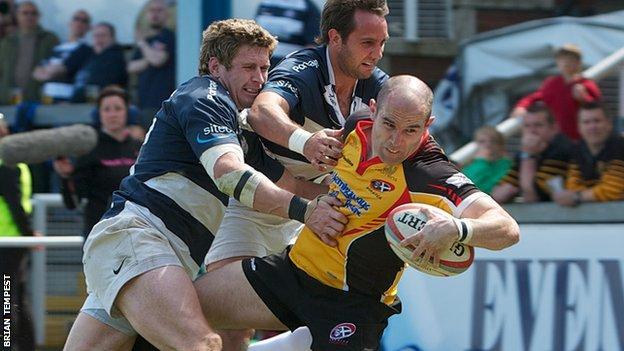 Cornish Pirates vs Bristol
