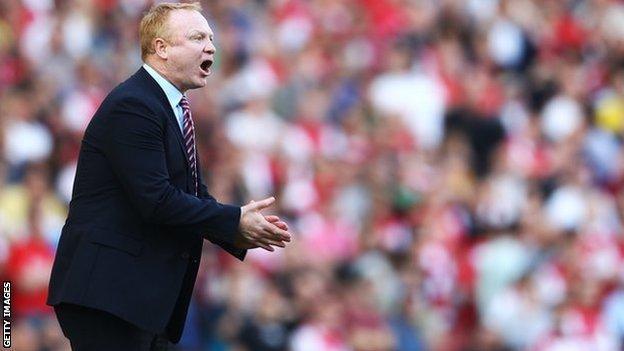 Sacked Aston Villa boss Alex McLeish