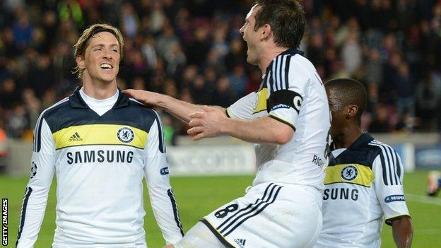 Torres and Lampard
