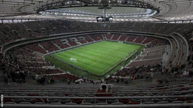The National Stadium in Warsaw
