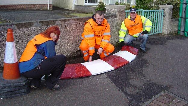 Volunteers provide a crucial input at the North West 200