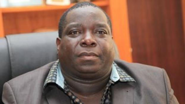 Zambian sports minister Chisimba Kambwili