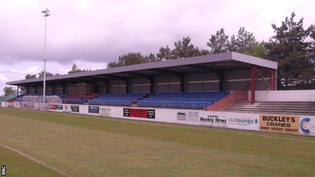 Colwyn Bay's Llanelian Road ground