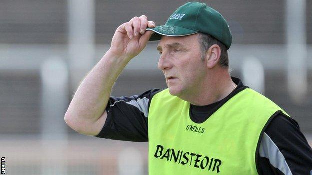 Derry hurling manager Ger Rogan