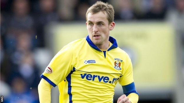 Kilmarnock midfielder James Fowler