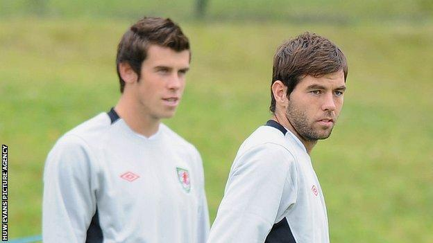 Gareth Bale and Joe Ledley