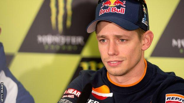 Casey Stoner's retirement was a big shock