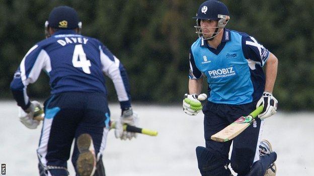 Scotland were thrashed by Hampshire at Uddingston