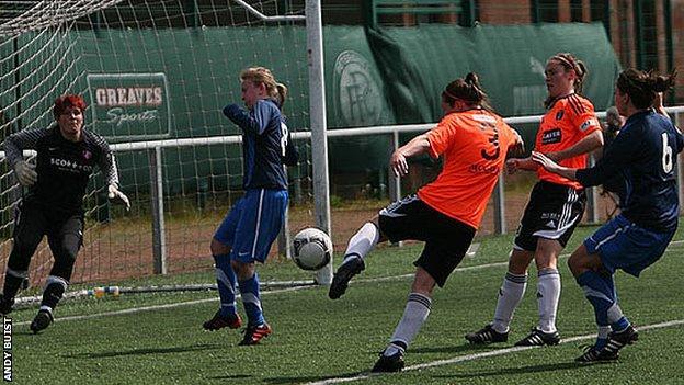 Glasgow City hammered nine goals past Spartans