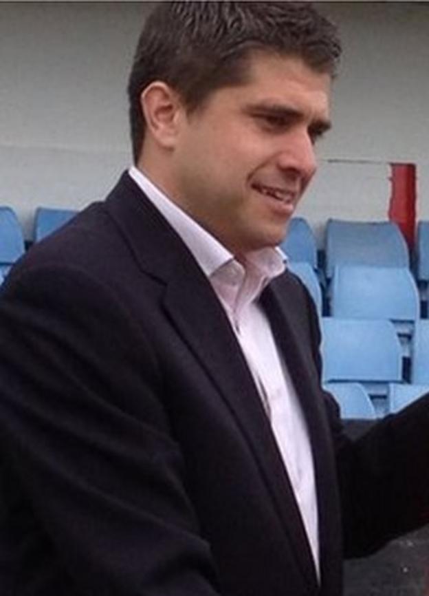 Redditch chairman Chris Swan