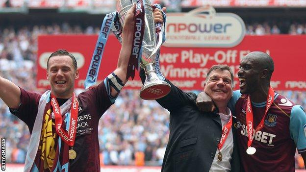 West Ham win promotion back to the Premier League