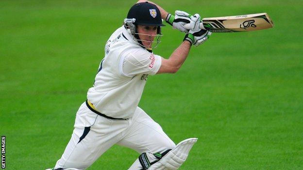 Durham batsman Will Smith