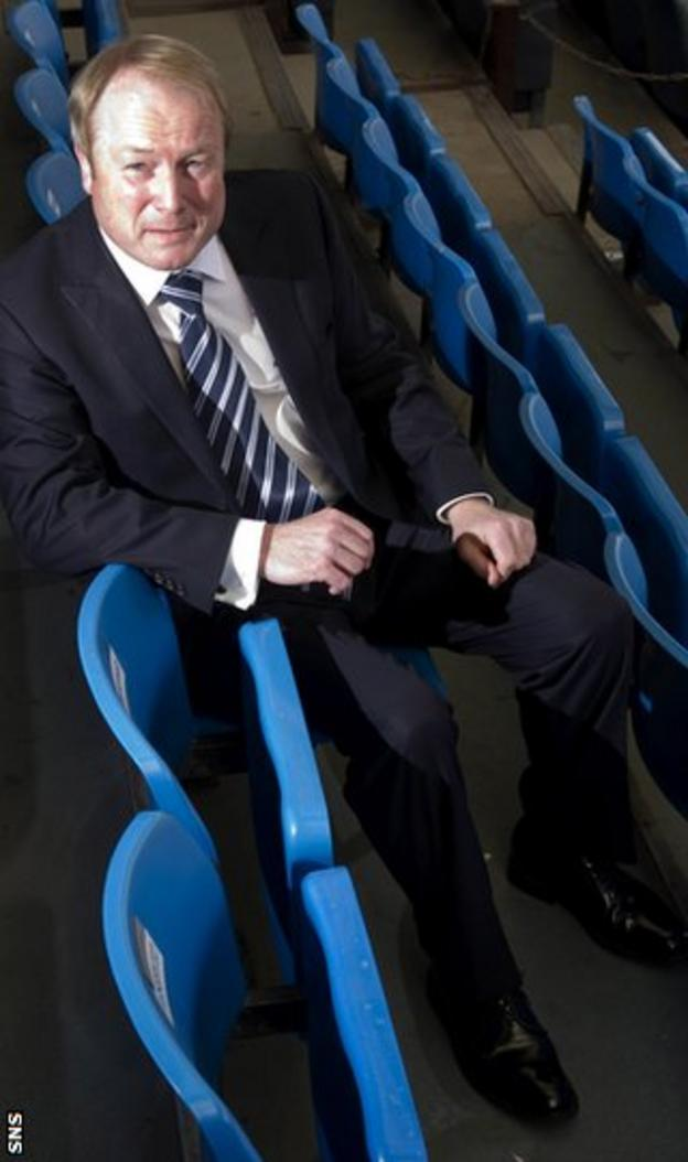 Johnston was speaking as he announced a new contract for manager Kenny Shiels