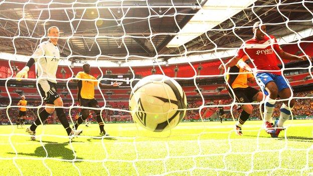 Newport lost to York City in the FA Trophy final at Wembley