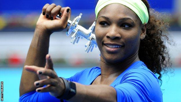 """Serena Williams in """"amazing"""" form ahead of French Open"""