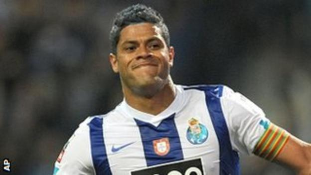 Porto forward Hulk