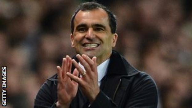 Liverpool target Roberto Martinez