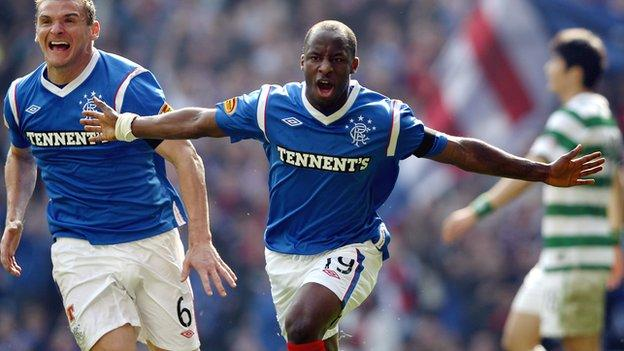 Sone Aluko of Rangers and Nigeria