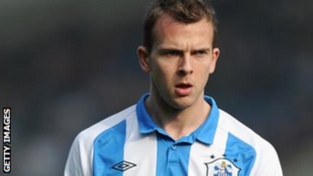 Huddersfield striker Jordan Rhodes