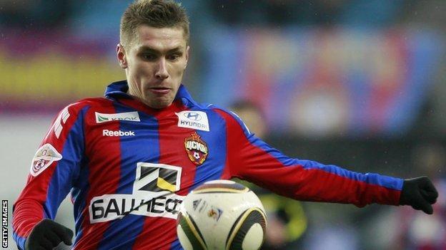 Kyrill Nababkin of CSKA Moscow