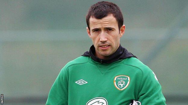 Keith Fahey underwent a scan after Saturday's friendly against Bosnia-Hercegovina