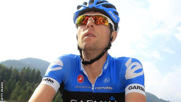 Ryder Hesjedal wins the Giro d'Italia