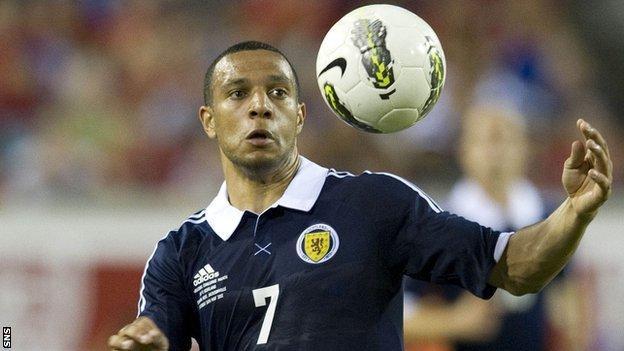 Scotland winger Matt Phillips
