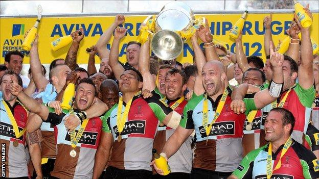 Harlequins team