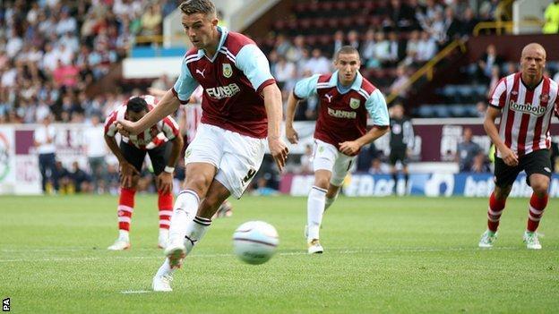 Burnley striker Jay Rodriguez