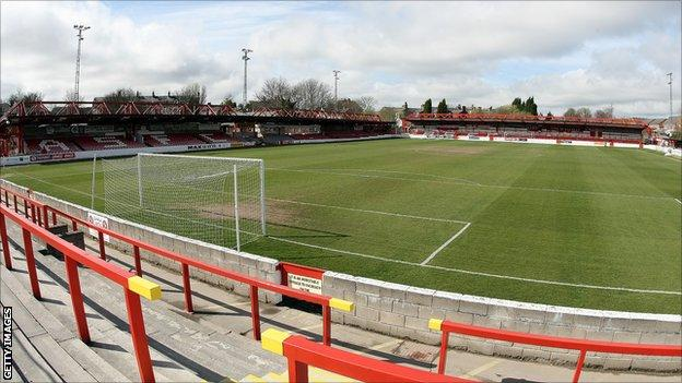 Accrington Stanley's Crown Ground