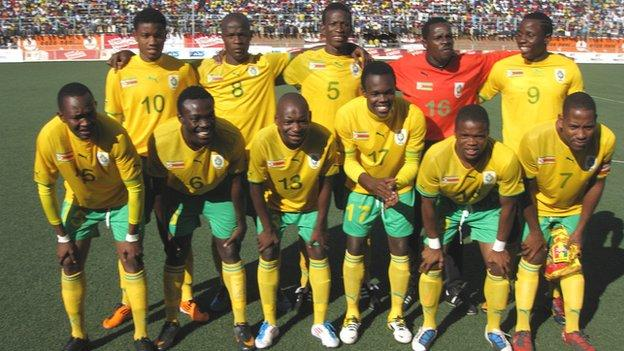 Zimbabwe's national team