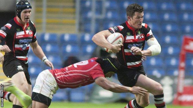 Cornish Pirates lost 29-20 to London Welsh
