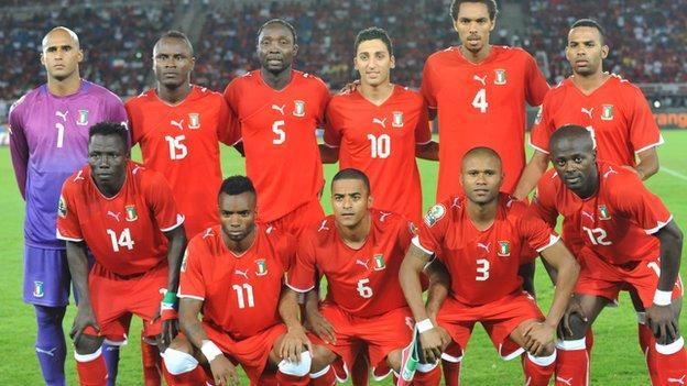 Equatorial Guinea's football team
