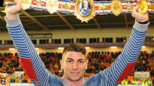 British champion Brian Rose