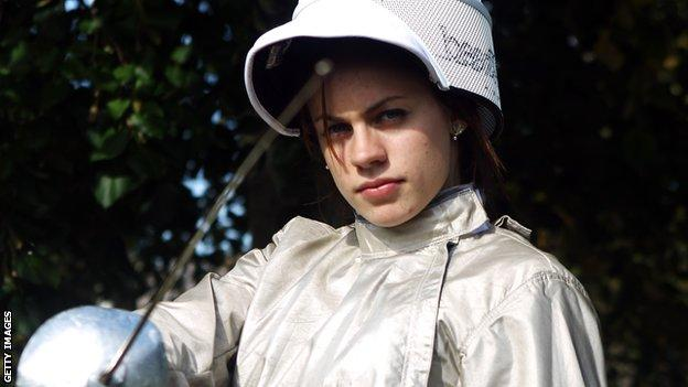 Team GB's Sophie Williams
