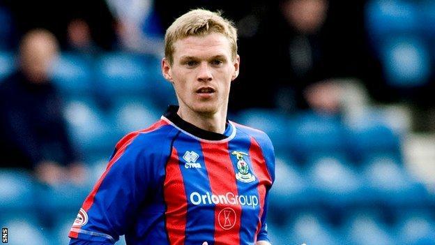 Inverness CT striker Billy McKay