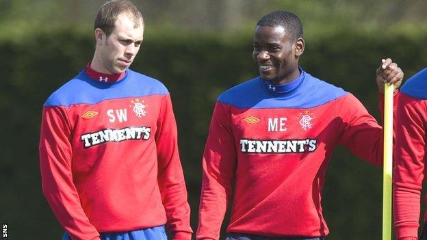 Steven Whittaker and Maurice Edu